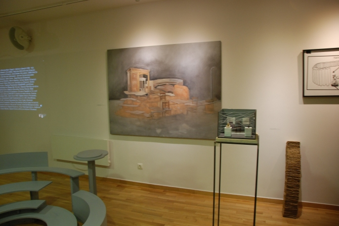 Installation View Open Case 303, Dionisis Christofilogiannis