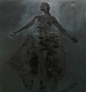 castalia, dionisis christofilogiannis, 2010, oil on canvas, 200x180cm