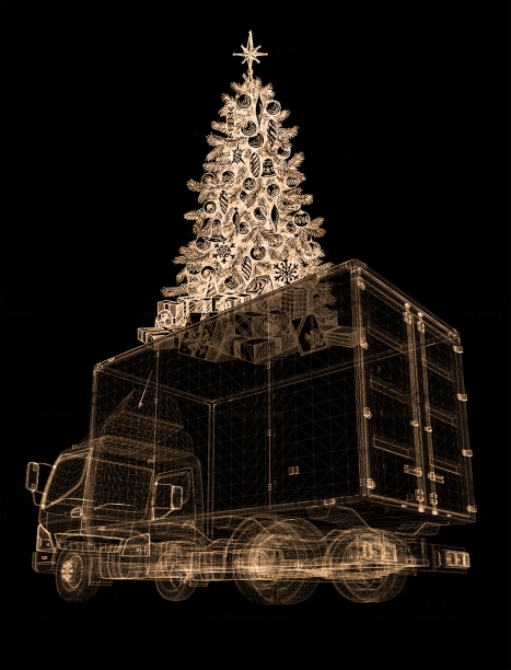 Christmas truck, Dionisis Christofilogiannis