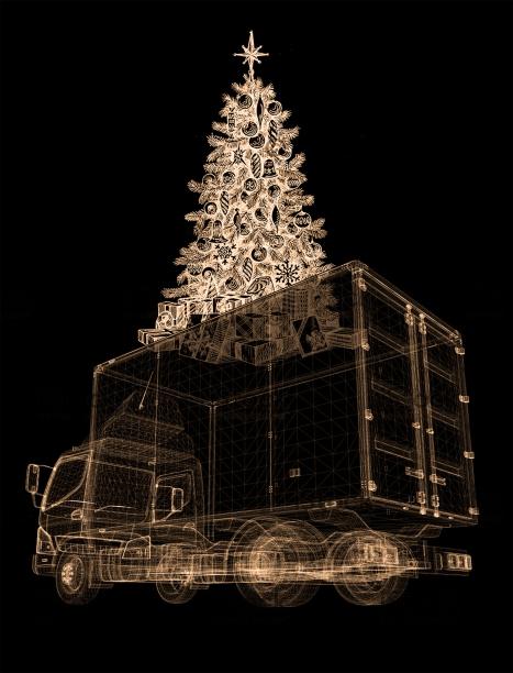 Christmas truck, Dionisis Christofilogiannis